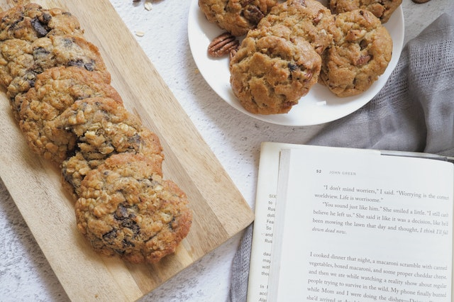 almond blueberry cookies